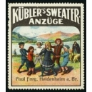 Kübler's Sweater Anzüge Paul Frey Heidenheim (WK 02)