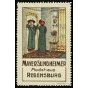 Mayer Sundheimer Modehaus Regensburg (WK 01)