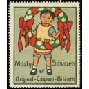 Miloty Schürzen mit Original - Caspari - Bildern (WK 02)