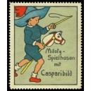 Miloty - Spielhosen mit Casparibild (WK 01)