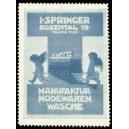 Springer Manufaktur - Modewaren Wäsche (blau)