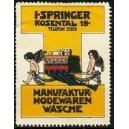 Springer Manufaktur - Modewaren Wäsche (farbig)