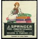 Springer Mode- u. Manufakturwaren Müchen (WK 01)