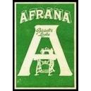 Afrana Biesolt & Locke (WK 01 - grün)