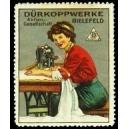 Dürkoppwerke Bielefeld (WK 01 - Frau an Nähmaschine)