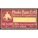 Ertl Photo Haus Augsburg Kino u. Projektion (lila)