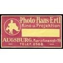 Ertl Photo Haus Augsburg Kino u. Projektion (lila)