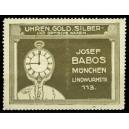 Babos München Uhren Gold Silber und optische Waren