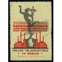 Berlin 1924 Fachausstellung Eisenwaren Werkzeuge ...