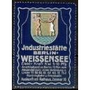Berlin Weissensee Industriestätte ... (blau)