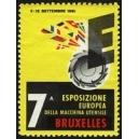 Bruxelles 1961 7a Esposizione Europea Machina Utensile