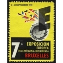 Bruxelles 1961 7a Exposición Europea Machina Herramienta