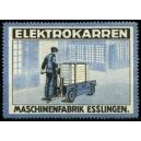 Elektrokarren Maschinenfabrik Esslingen (WK 01)