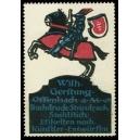 Gerstung Offenbach Buchdruck Steindruck ... (WK 01)