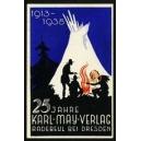 Karl May Verlag Radebeul bei Dresden, 1913 - 1938 25 Jahre