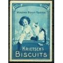 Krietsch's Biscuits (Kind Katze - blau)