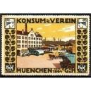 München Konsum - Verein von 1864 eGmbH (gelb)