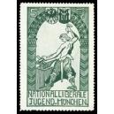 München Nationalliberale Jugend 5 Pf. (Schmied - grün)