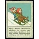 Scholz' Künstler-Bilderbücher ... (Kinder auf Schlitten)