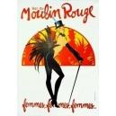 Moulin Rouge femmes femmes femmes (80 x 120)