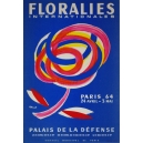 Paris 1964 Floralies Internationales Palais de la Defense