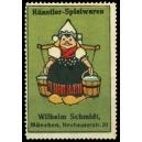 Schmidt Künstler-Spielwaren München (Eimerträgerin)