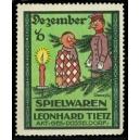 Tietz Düsseldorf Spielwaren (Monatsserie - Dezember)