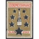 Black Star Eickemeyer Mainz (Flasche, Sterne - gold)