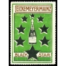 Black Star Eicemeyer Mainz (Flasche, Sterne - grün)