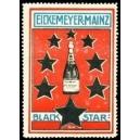 Black Star Eickemeyer Mainz (Flasche, Sterne - rot)