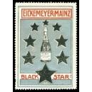 Black Star Eickemeyer Mainz (Flasche, Sterne - silber)