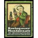 Breisgauer Mostansatz ... (WK 01)