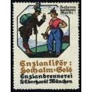 Eberhardt München, Enzian Likör Hochalm Gold Enzianbrennerei