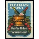 Heros Sekt Obst-Sekt-Kellerei ... Würzburg ... (WK 01)