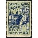 Chalon 1914 Carnaval (hellblau)