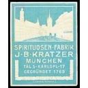 Kratzer Mnchen Spirituosen Fabrik (türkis)