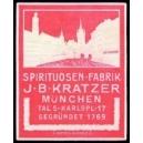 Kratzer München Spirituosen Fabrik (rot)