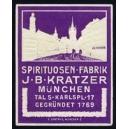 Kratzer München Spirituosen Fabrik (violett)