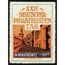 Marktredwitz 1912 XXIV. Deutscher Philatelisten Tag