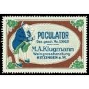 Poculator Klugmann Weingrosshandlung Kitzingen (WK 01)