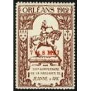 Orleans 1912 500e Anniversaire naissance Jeanne d'Arc (braun)