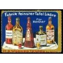 Wagner Langen Fabrik feinster Tafel Liköre für Kenner