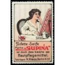 Supina Toilette - Seife ... (WK 01 - Frau am Tisch)