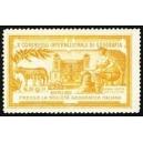 Roma 1911 X Congresso di Geografia (orangebraun)