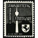 Stuttgart 1965 15. Deutscher Zahnärztetag