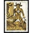 Geb. Füs. Bat. 87 Aktivdienst 1939/42