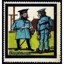 (Karikatur) Hauptmann