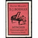 Bosman Klavier - Magazin München (rot)