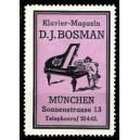 Bosman Klavier - Magazin München (violett)