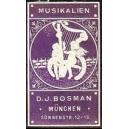 Bosman München Musikalien (Harfe - violett)